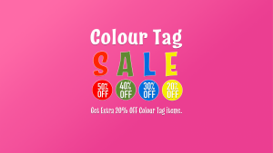 Sprog Store - Colour Tag Sale